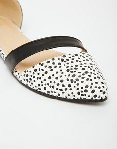 Image 4 of Park Lane Two Part Flat Shoes