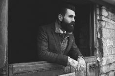 Ricki Hall CLIENT 9 - Entitled 'The League of extraordinary gentlemen', the Ricki Hall CLIENT 9 image series embraces a rough and rugged aesthetic. Bad Beards, Ricki Hall, League Of Extraordinary Gentlemen, Rugged Men, Attractive Men, Perfect Man, Stylish Men, Bellisima, Male Models