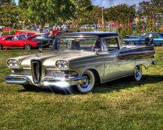 Edsel pick up Custom Trucks, Custom Cars, Pick Up, Classic Trucks, Classic Cars, Edsel Ford, Sweet Cars, Us Cars, Vintage Trucks
