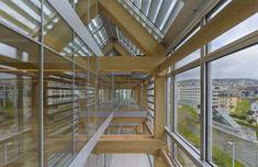 Edificio de Oficinas Tamedia,© Didier Boy de la Tour
