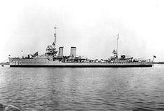 USS Hull (DD-350) Farragut class destroyer