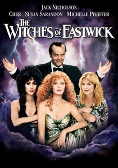 The Witches Of Eastwick 1987 Film 80s Movies, Great Movies, Horror Movies, Iconic 90s Movies, See Movie, Movie Tv, Die Hexen Von Eastwick, The Witches Of Eastwick, Foto Poster
