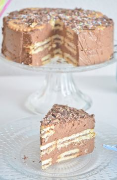 Chocolate cookie cake by Mi dolce paradiso