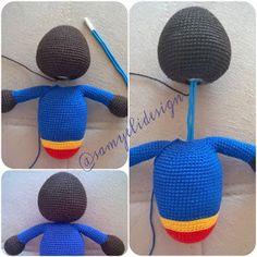 6 Best Hip Exercises for Women Health : Sport for Women in 2020 - Frau Crochet Doll Pattern, Crochet Toys, Free Crochet, Crochet Patterns, Mario Y Luigi, Hip Workout, Applique Patterns, Half Double Crochet, Free Pattern