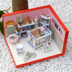 Baby Room # miniatures, room box