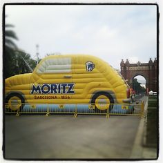 Inflatable Moritz! Guinness, Brewery, Nostalgia, Barcelona, Branding, Marketing, Retro, Photography, Pop