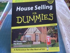 House Selling for Dummies by Eric Tyson MBA and Ray Brown VG cond