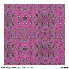 Rose Design Fabric