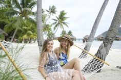 Bora Bora swinging and relaxing with my best friend! The ultimate best time relaxing and soaking up the sun island style.