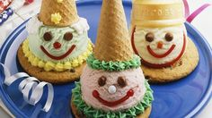 Cookie and Cone Clowns Recipe