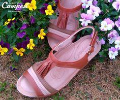 Nesta sandália Campesí, o nude é o complemento ideal para os tons terrosos, em uma mistura de estilo com muito conforto!