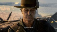 Frederick Bishop (battlefield 1) face and hat reference picture