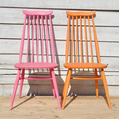 Painted Ercol Goldsmith Chairs