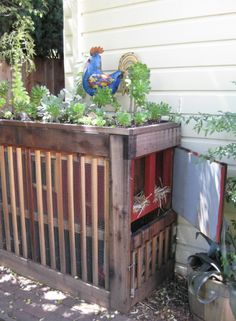 Keeping Backyard Chickens & Green Roof Coop Design - Simplified Bee