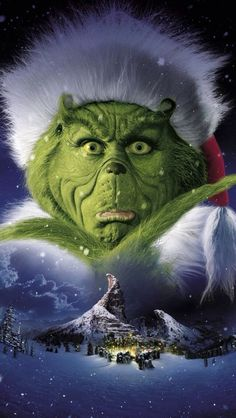 The Grinch iPhone 5 Wallpaper (640x1136)