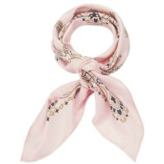 Manipuri Women's Bandana Print Pink Silk Square Scarf (€115) ❤ liked on Polyvore featuring accessories, scarves, light pink, pink silk scarves, square silk scarves, pure silk scarves, pink scarves and silk scarves