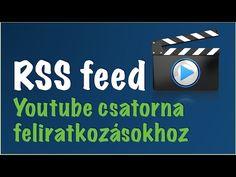 Youtube csatorna feliratkozás RSS feed - Sipos Ottó - Clear Online