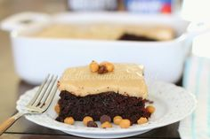 The Country Cook: Chocolate Mayonnaise Cake with Brown Sugar Frosting