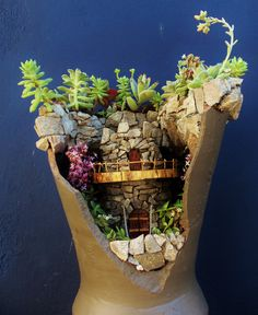 Minijardín realizado por Gabriel Pedrazzi