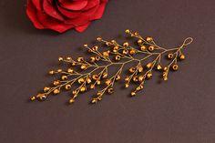 Wedding hair accessories Crystals Hair Vine Wedding Headpiece