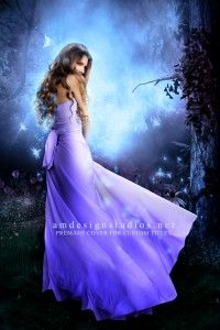 premade_4118 Premade book cover - fantasy, paranormal, young adult, fairy, romance