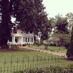 Ivy Green - Helen Keller's Birthplace, located in Tuscumbia, AL www.helenkellerbirthplace.org