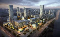 The Fuzhou mixed-use project is located at the centre of Fuzhou, Fujian Province. The site area is 420,000 sqm, and the building area is 1,540,000 sqm. The project includes 540,000 sqm of residential area, 850,000 sqm of commercial and office area, and 15…