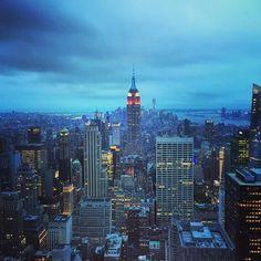 #NewYork #topoftherock #Empire #nyc by leytol