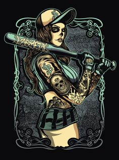 Muerto Ladies by denny dessastra.