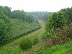 Old East/West German border, spent many days patrolling this old Cold War feature.