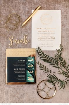 Beautifying stationery with gleaming gold accents, will bring about a glamorous aesthetic to set the tone for a timeless yet unique celebration. Elite Hotels, Wedding Stationery Inspiration, One And Only, Gold Accents, Big Day, Celebration, Romantic, Wedding Ideas, Unique