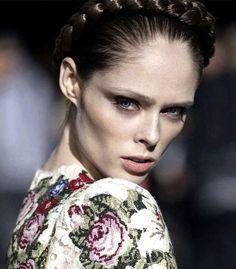 Coco Rocha for Vogue Mexico #braid