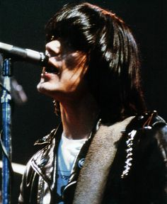 DeeDee was supposed to be the lead singer for the Ramones but he couldn't play and sing at the same time.