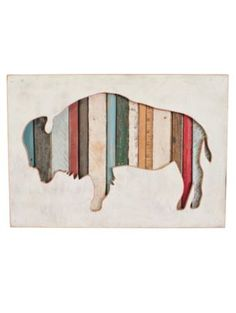 Pendleton Woolen Mills: AMERICAN BISON ART $330.00 - make diy version?