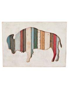 Pendleton Woolen Mills: AMERICAN BISON ART $330.00 - make diy version?