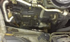 Valve cover gasket: In the center are the two coil packs that need to be removed.  #Subaru #subaruidiots #WRX #STi #Turbo #Impreza #Boost #Enthusiast #Subarulove