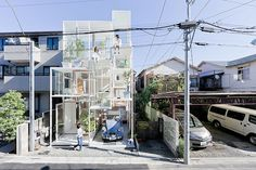 Transparent House par Japanese Architects Sou Fujimoto Architects