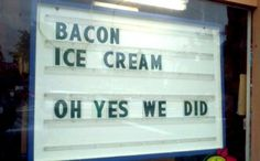 OH YES WE DID!!!! (find more funny signs at funnysigns.net)