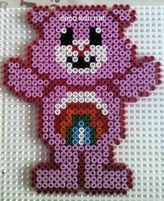 Care Bears hama perler by DECO.KDO.NAT