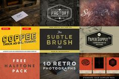 Free RetroSupply Graphic Design Goods