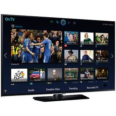 """Buy Samsung UE40H5500 LED HD 1080p Smart TV, 40"""" with Freeview HD Online at johnlewis.com"""