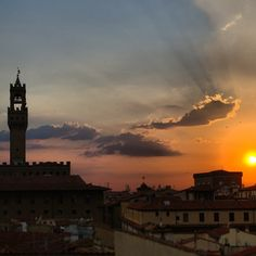 Sunset in Florence #firenze #florence #sunset...