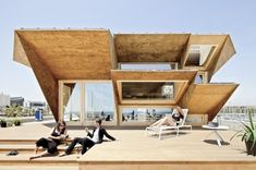 The Institute for Advanced Architecture of Catalonia designed the Endesa Pavilion, as part of the Smart City Expo in Barcelona, Spain.