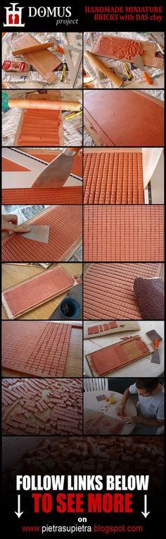 Domus+project+2:+Homemade+miniature+bricks+by+Wernerio.deviantart.com+on+@DeviantArt