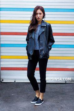 #MUSINSA  model street style 2016