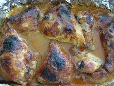 Rosh Hashana Orange Chicken _ Mom's Orange Glaze Chicken. (Jewish Cuisine)