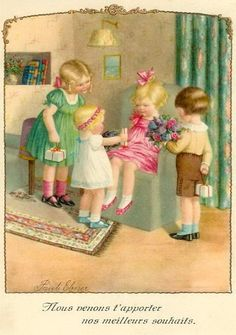 Pauli Ebner (1873-1949) — Old Post Cards (562x800)
