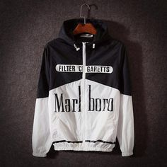 Fashion 2017 Windbreaker Men Thin Jacket Printed Letters Smoking Kills  Sportswear Sunscreen Lovers Clothing Coats Macho ef4835e746