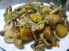 レストラン サン・ミケ-レ「骨付き鶏肉のカチャトーラ」