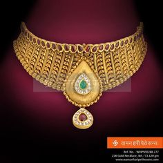Be it a wedding or a party, this #Necklace is designed to match all the occasions.  Check more here : http://bit.ly/1indk89  #jewelerycollection #indianjewellery #jewellerylove #Earrings #traditionaljewellery #goldjewellery #ethnicjewellery #wedding #indianwedding #NecklaceSet
